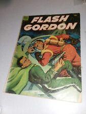 FOUR COLOR #512 dell comics 1953 golden age flash gordon painted cover scifi art