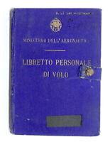 Aeronautica Militare - Libretto personale di volo - 34^ Squadriglia O.A. - 1941