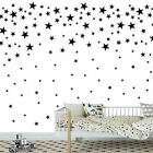 Melissalove 174pcs Mixed Size Star Wall Stickers Home Decor Bedroom Removable