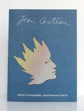 Jean Cocteau. Fonds Jean Cocteau 1889-1963 Galerie d'autographes J.-E. RAUX 1996