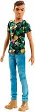 Barbie Muñeco Ken fashionista Castaño multicolor (mattel Fjf73)