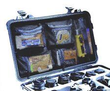 Peli Box Pelibox Pelicase Deckeleinsatz *Organizer*  Flightcase 1510 Netz Netzta