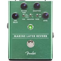 New Fender Marine Layer Reverb Guitar Pedal!