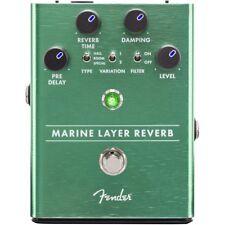 Fender Marine Layer Reverb Guitar Pedal!