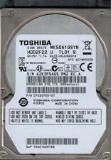 Toshiba MK5061GSYN HDD2F22 U TL01 S F/W: A0 / MH000K 500GB