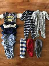 Babygap Boys 0-3 Months Shirts Sleepers Pants Lot