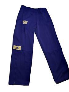 Adidas Washington Huskies Game Mode Purple Pants Mens SZ L-TALL EC4250