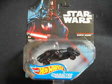 Hot Wheels Star Wars Die Cast Character Cars Darth Vader DXP38 New Collectible