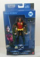 DC Multiverse Red Robin Tim Drake Killer Croc BAF Batman Wave 2019
