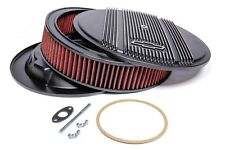 Holley Vintage Series Air Cleaner 120-172 SBC Bowtie Finned Black BBC Chevrolet