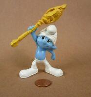"Peyo 2011 Clumsy 3"" McDonald's Figurine Smurfs Village, BLUE"