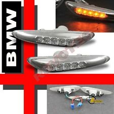 97-06 BMW E36 E46 E60 5-Series LED Side Marker Lights 98 99 00 01 02 03 04 05
