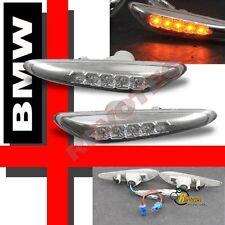 97-06 BMW E36 E46 E60 5-Series LED Side Marker Lights 98 99 00 01 02 03 04 05