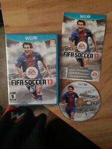 FIFA Soccer 13 (Nintendo Wii U, 2012) EA. Free Shipping. Complete