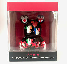 "DISNEY VINYLMATION 3"" CITY FLAG EPCOT MAGIC AROUND THE WORLD MICKEY MOUSE TOY"