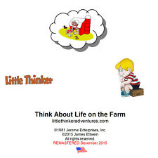 Little Thinker - Think About Life on the Farm- New Cd remastered from cass. tape