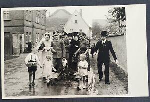 WW2 ORIGINAL PHOTO OF GERMAN WEHRMACHT LUFTWAFFE WEDDING DAY