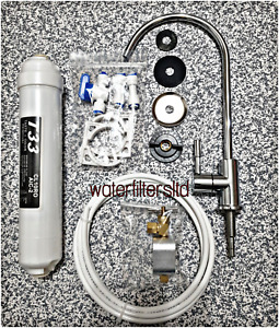 Undersink Drinking Water Filter Kit System Including Faucet and Accessories new