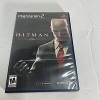 Hitman: Blood Money  Sony PlayStation 2 PS2 Complete CIB W/ Manual Free Ship