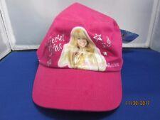 Brand new Miley Cyrus Disney Hannah Montana girls kids Cap 100% cotton with tag