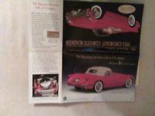 "Danbury MINT 1955 Corvette ""FLYER"""