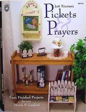 """""""Pickets & Prayers"""" Tole Painting Craft Book - 19 Projects for Home & Garden"""