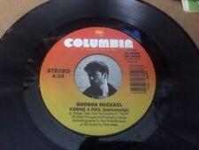 GEORGE MICHAEL KISSING A FOOL PIC SLEEVE  45 RPM VINYL  7 R