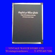 English 30-Hour Clocks 1600-1800,.Darken and Hooper, 1997 Rare 1 of 50 Copies