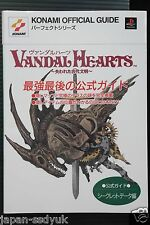 "JAPAN Vandal Hearts: Official Guide Book ""Secret Data"""
