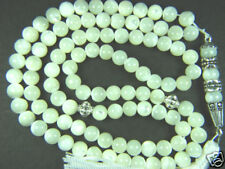 8mmx99 WHITE MOTHER of PEARL BEADS ISLAMIC GIFT TASBIH
