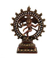 Soprammobile Shiva Nataraja IN di Resina Divinità Indù 1067 Z1