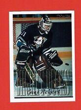 1995-96 Topps OPC Canadian parallel # 112 Guy Hebert ANAHEIM DUCKS GOALIE