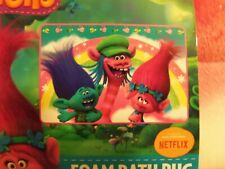 "NEW - DreamWorks Trolls Rainbow Days Foam Bath Mat Rug 20""X30"""