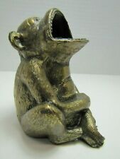Antique Monkey Cigar Ashtray Rest JB Jenning Bros Figural Ornate Detail
