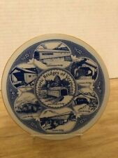 Collector Plate, Vermont Covered Bridges