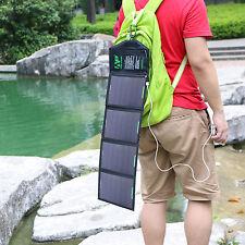 18W 5V Folding Sunpower Solar Panel Battery Charger Pack Camping Partner