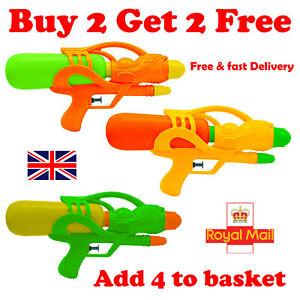 Water Gun Pistol Gun Pump Shooter Kids Toy Outdoor GARDEN Summer Fun Make UK