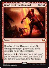 BONFIRE OF THE DAMNED Modern Masters 2017 MTG Red Sorcery Mythic Rare