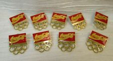 Coca Cola Olympic Rings Pins Badges Lot of Nine