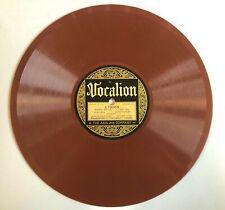 1923 Record,Vocalion Red 78 Rpm, Lebedeff, Jewish Yiddish, Wie Senen,Tutzi Mutzi