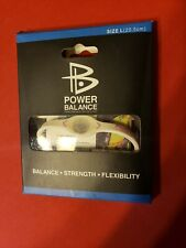 Power Balance Energy Health Band Bracelet Gray Hologram New