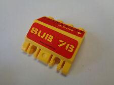 LEGO panneau train panel charnière Hinge stickers (44572)