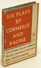 Six Plays by CORNEILLE & RACINE in a VG+ Modern Library edition w/jacket 77115