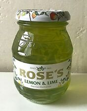 BRAND NEW Rare Roses Lemon & Lime Fine Cut Marmalade 454g - Best Before 2021