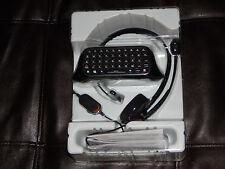 neu! schwarz headset messenger set chat pad microsoft xbox 360 kostenloser versand