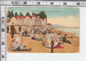"""CAPITOLA - 1466 MITCHELL - """"HOTEL AND BEACH AT CAPITOLA.."""" Vintage Hotel & Beach"""
