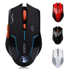Rechargeable Wireless Mouse Computer Gaming 1600DPI Built-in Battery Gamer Mice