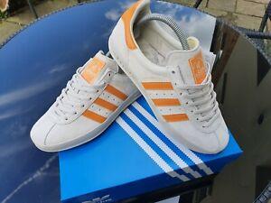 Adidas Broomfield 8 grey orange custom