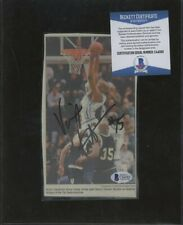 C44583 Vince Carter Signed Newspaper Clipping AUTO Autograph Beckett BAS COA