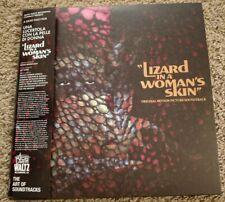 Lizard In A Woman's Skin Soundtrack Deluxe Swirl Vinyl LP Ennio Morricone NEW